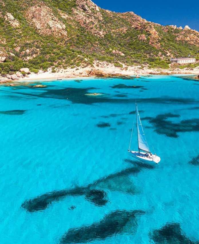 viaggio in barca a vela in italia: arcipelago della maddalena