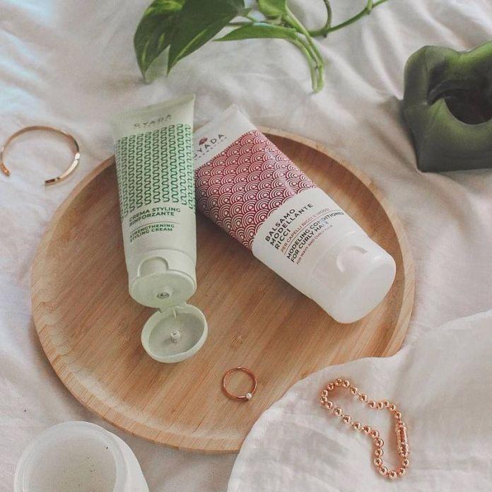 Prodotti capelli ricci: balsamo modellante ricci gyada cosmetics