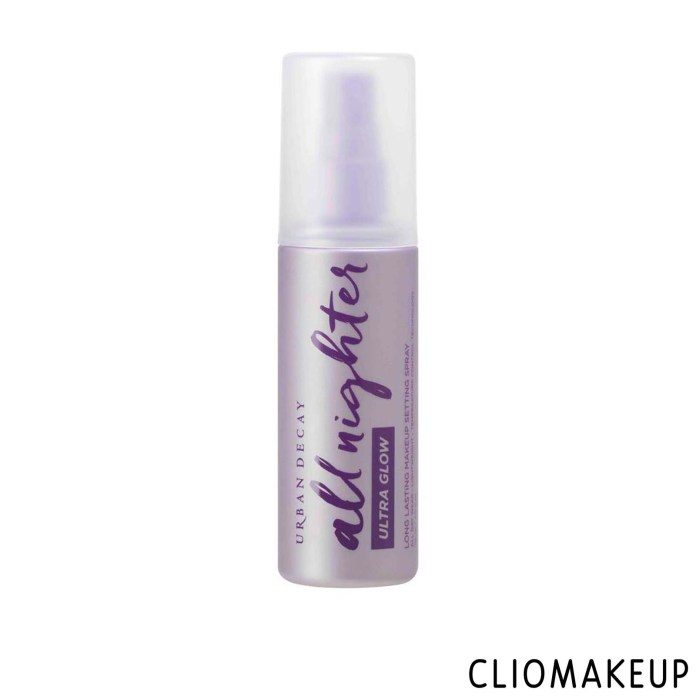 cliomakeup-recensione-Recensione-fissante-urban-decay-all-nighter-ultra-glow-long-lasting-makeup-setting-spray-1