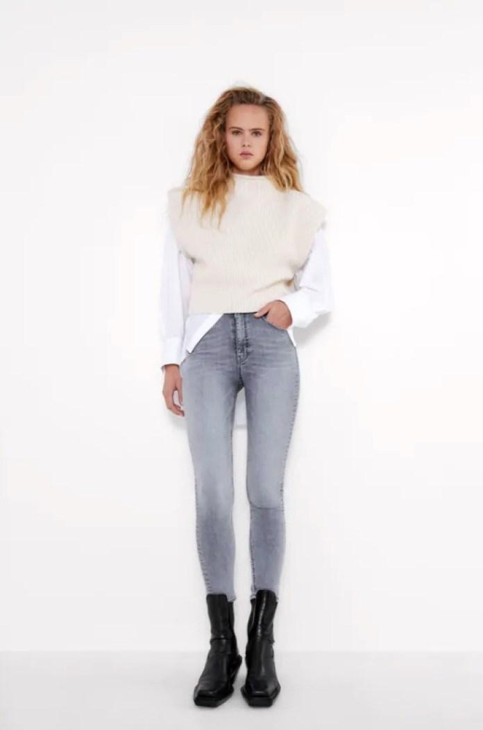Cliomakeup-jeans-a-vita-alta-10-zara-jeans-skinny-grigio