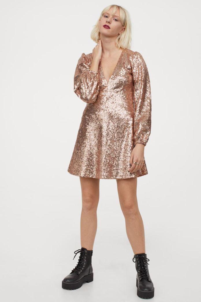 Cliomakeup-minidress-inverno-2021-14-hm-Abito-paillettes-rosa