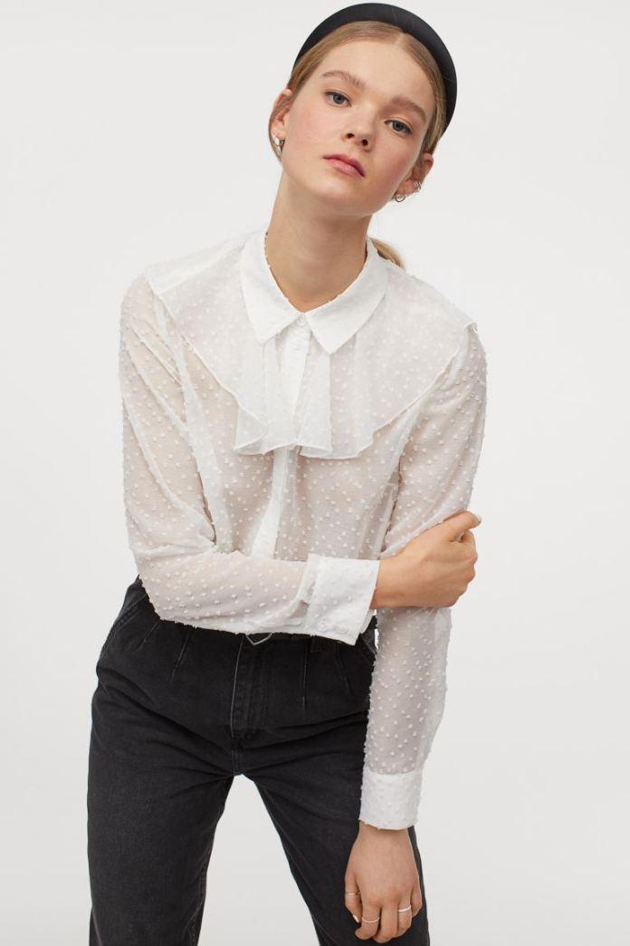 Cliomakeup-look-con-camicia-inverno-2021-5-hm-Camicia-plissettatura