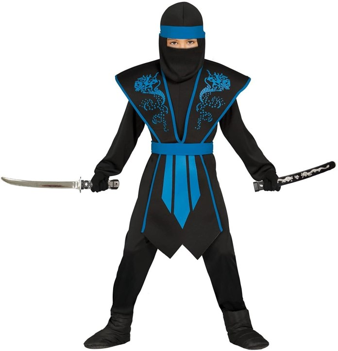 cliomakeup-costumi-bambini-carnevale-2021-4-ninja