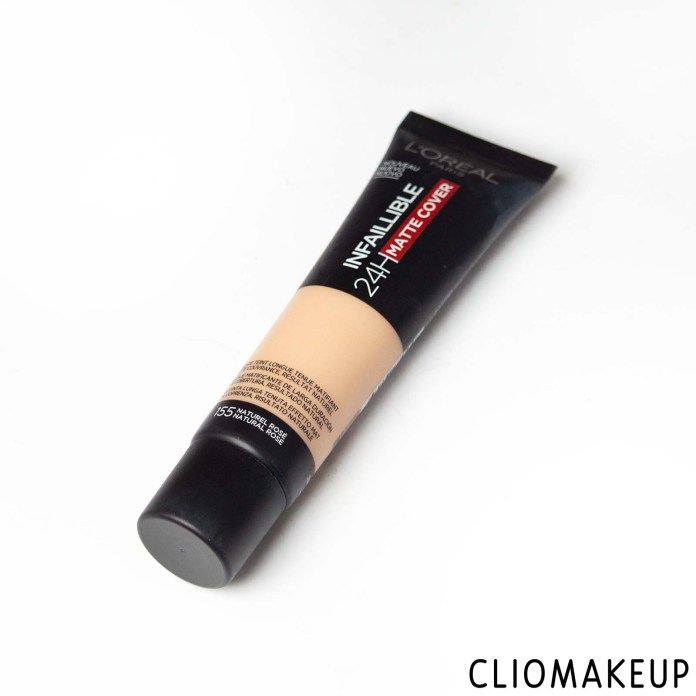 cliomakeup-recensione-fondotintal-oreal-infaillible-24h-matte-cover-2