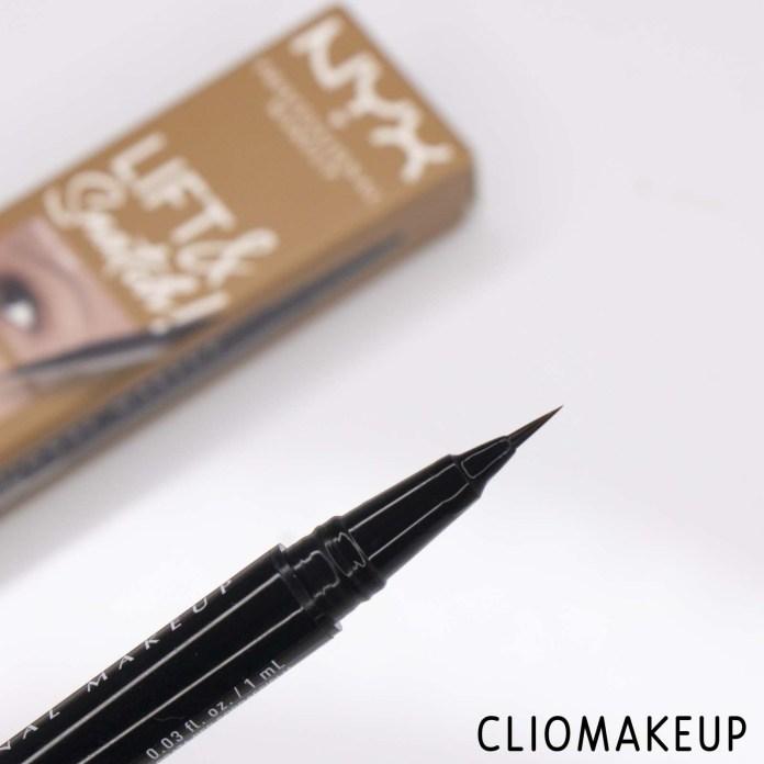 cliomakeup-Recensione Penna Sopracciglia-NYX-Lift-E-Snatch-Brow-Tint-Pen-5