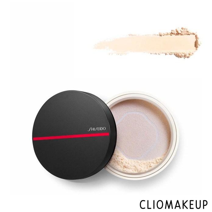 cliomakeup-recensione-cipria-shiseido-synchro-skin-invisible-silk-loose-powder-3