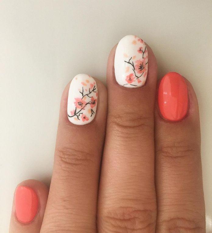 Cliomakeup-unghie-pink-sakura-pesca