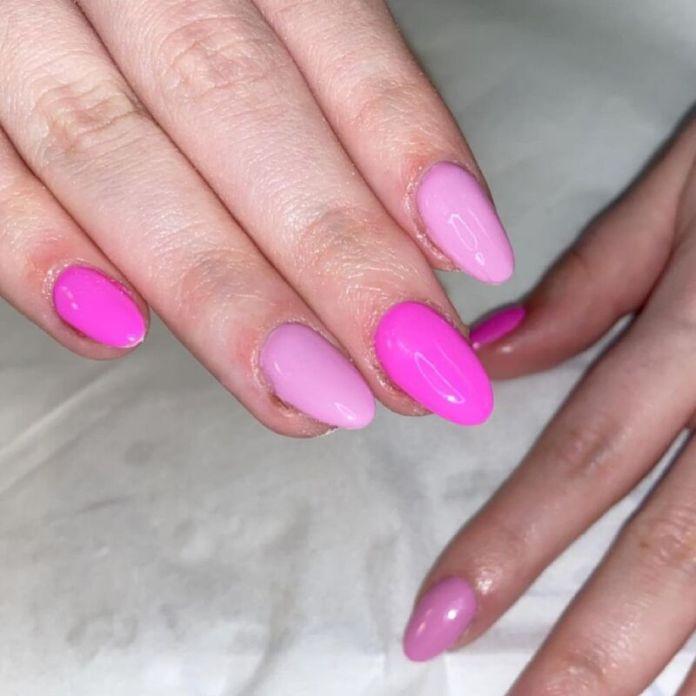 cliomakeup-colori-unghie-primavera-estate-2021-rosa-mismatched