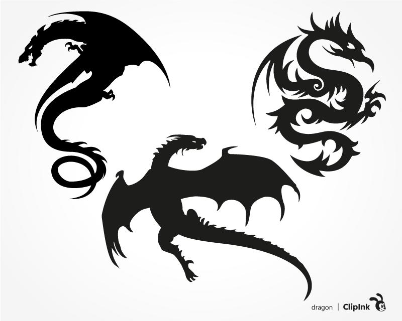 Download Dragon svg   svg, png, eps, dxf, pdf   ClipInk