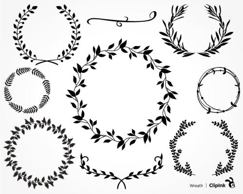 wreath clipart