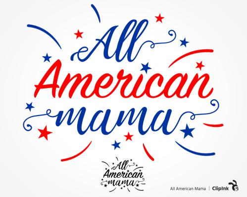 american mama svg