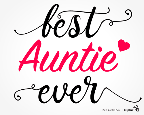 best auntie ever svg