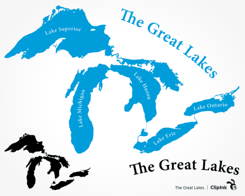 Great Lakes svg