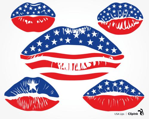 ClipInk-USA-lips