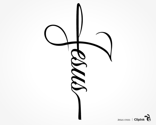 Jesus cross svg
