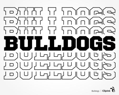 bulldogs svg