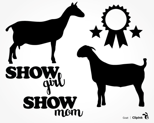 show goat svg