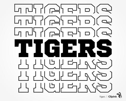 tigers svg