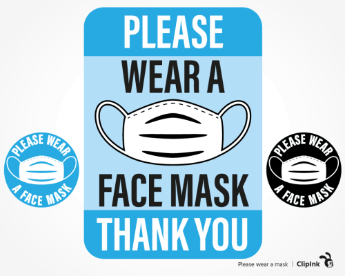 please wear mask