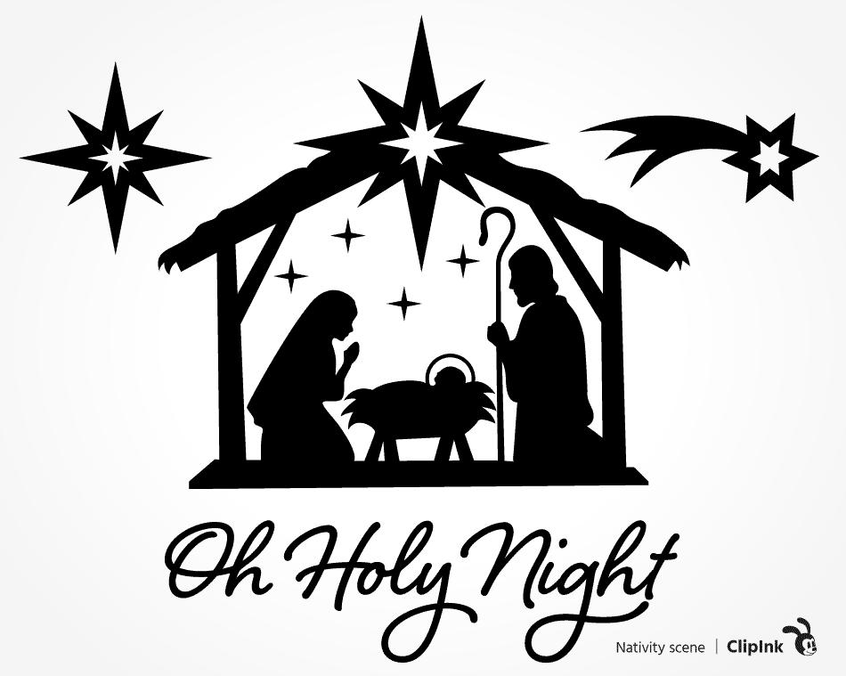 Nativity Svg Christmas Stars Images Svg Png Eps Dxf Pdf Clipink