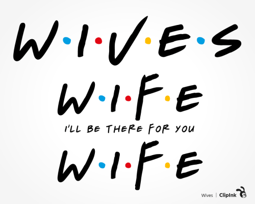wife friends svg