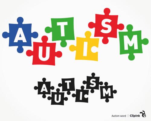 autism puzzles svg