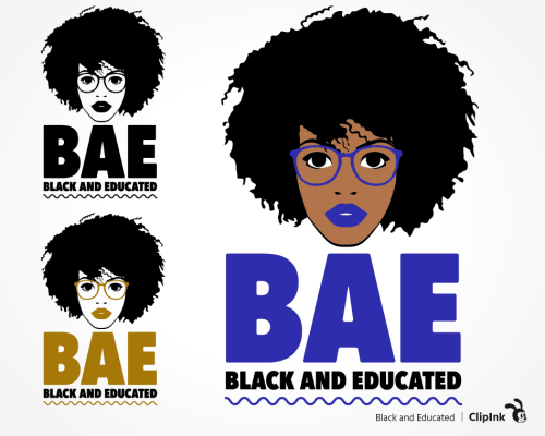 black and educated svg