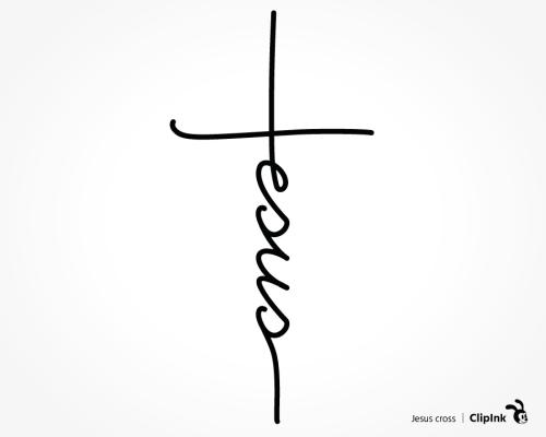 Jesus word cross