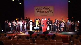 出演者全員が参加した感動のフィナーレ(昨年の様子)