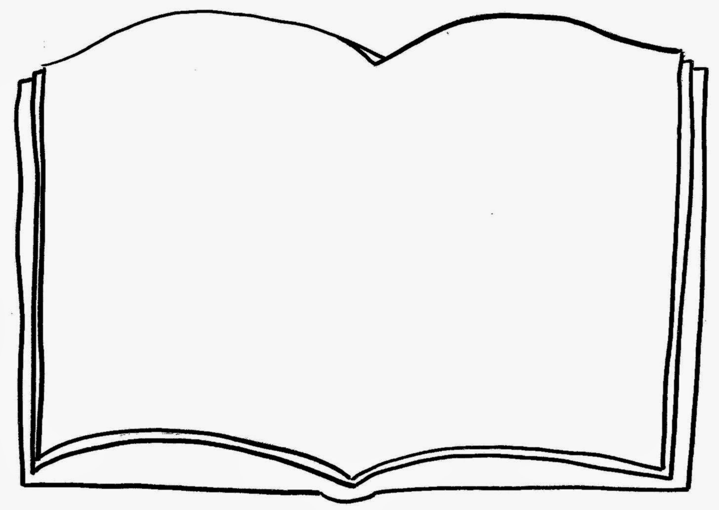 White Clipart Open Book Pencil And In Color White Clipart