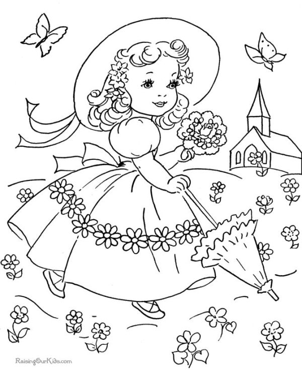 vintage coloring pages # 22