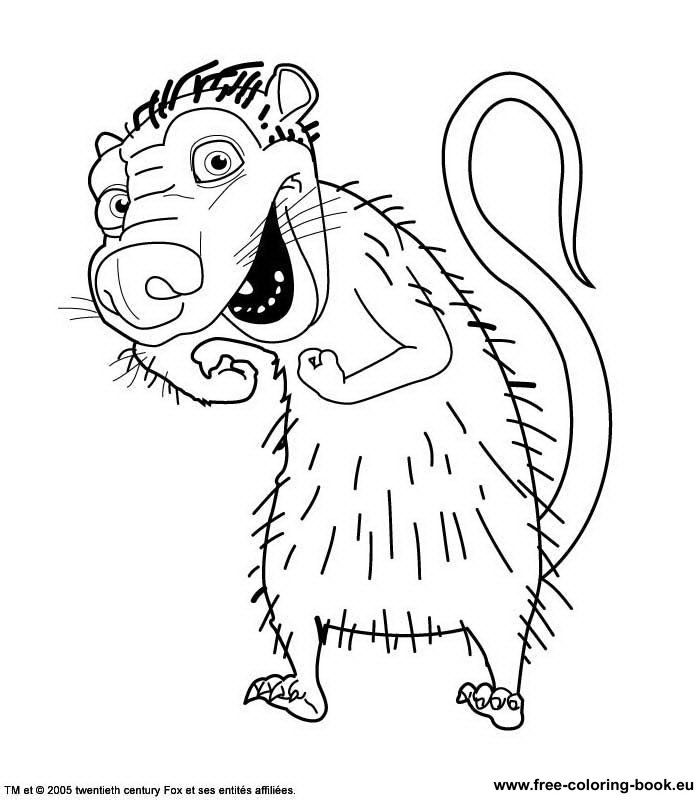 Free Ice Age Ellie Coloring Pages, Download Free Clip Art