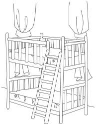 Free Bed Coloring Pages Download Free Clip Art Free Clip Art on Clipart Library