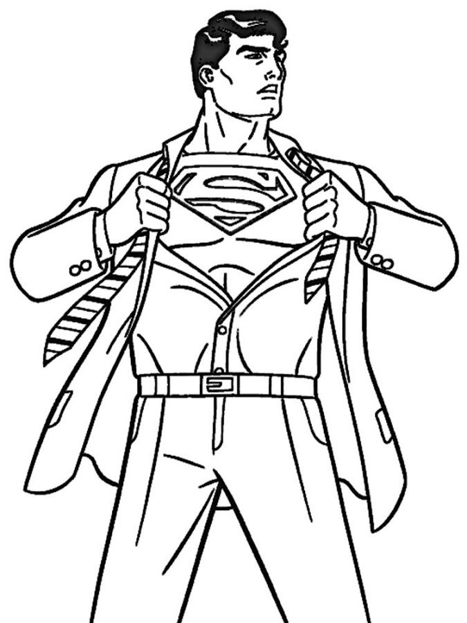 Free Superman Coloring Book, Download Free Clip Art, Free