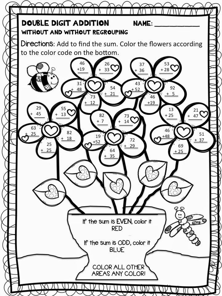 Free Addition And Subtraction Coloring Pages, Download