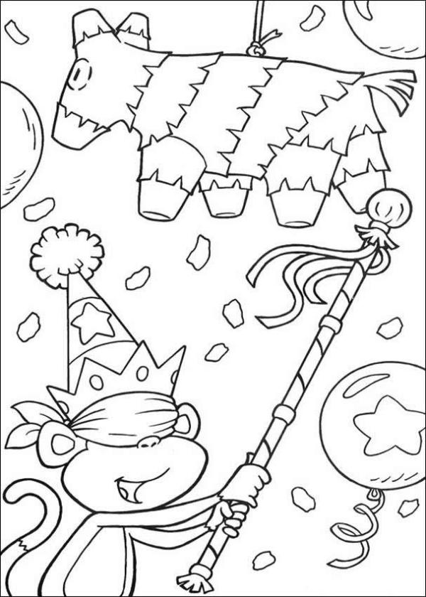 fiesta coloring pages # 54