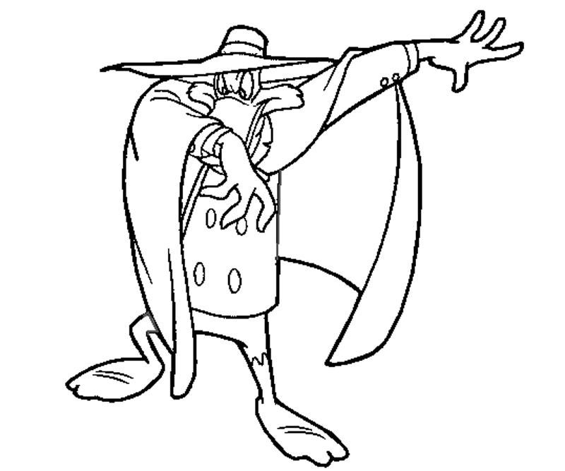 Free Darkwing Duck Coloring Pages, Download Free Clip Art