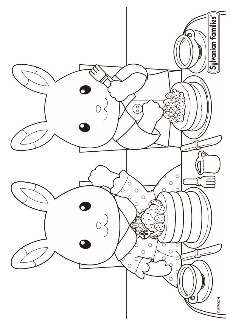 Free Calico Critters Free Coloring Pages Download Free Clip Art Free Clip Art On Clipart Library