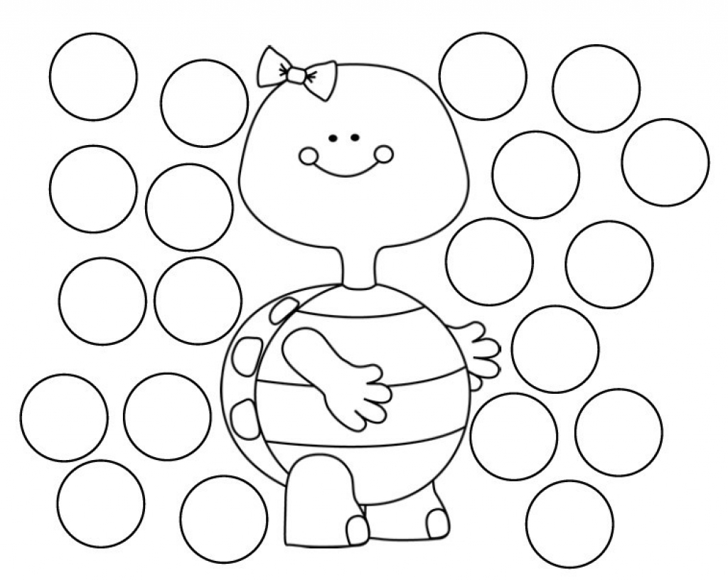 Free Do A Dot Art Coloring Pages Download Free Clip Art
