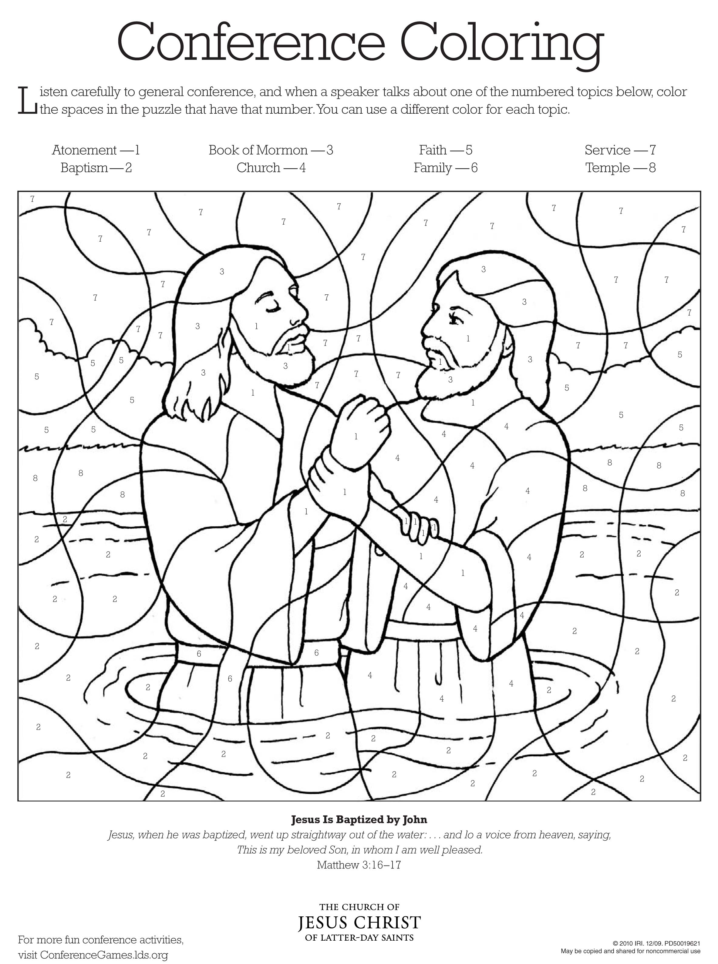 Free Coloring Pages Joseph Forgives His Brothers, Download