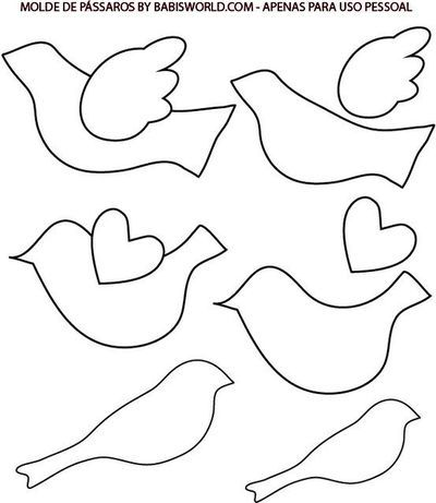 Free Bird Cut Out Template, Download Free Clip Art, Free