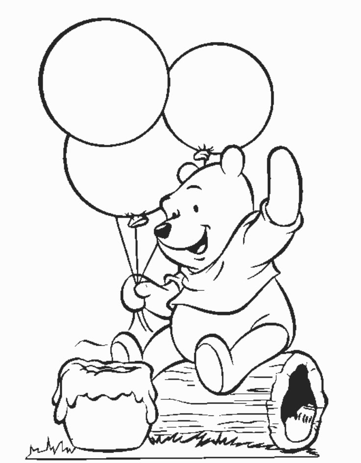 Free Winnie The Pooh Colouring Download Free Clip Art Free Clip Art On Clipart Library