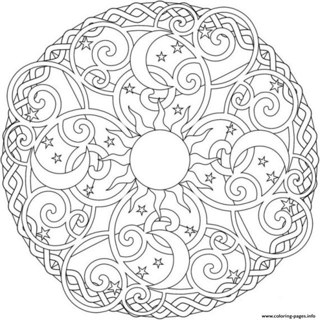 celestial coloring pages - Clip Art Library