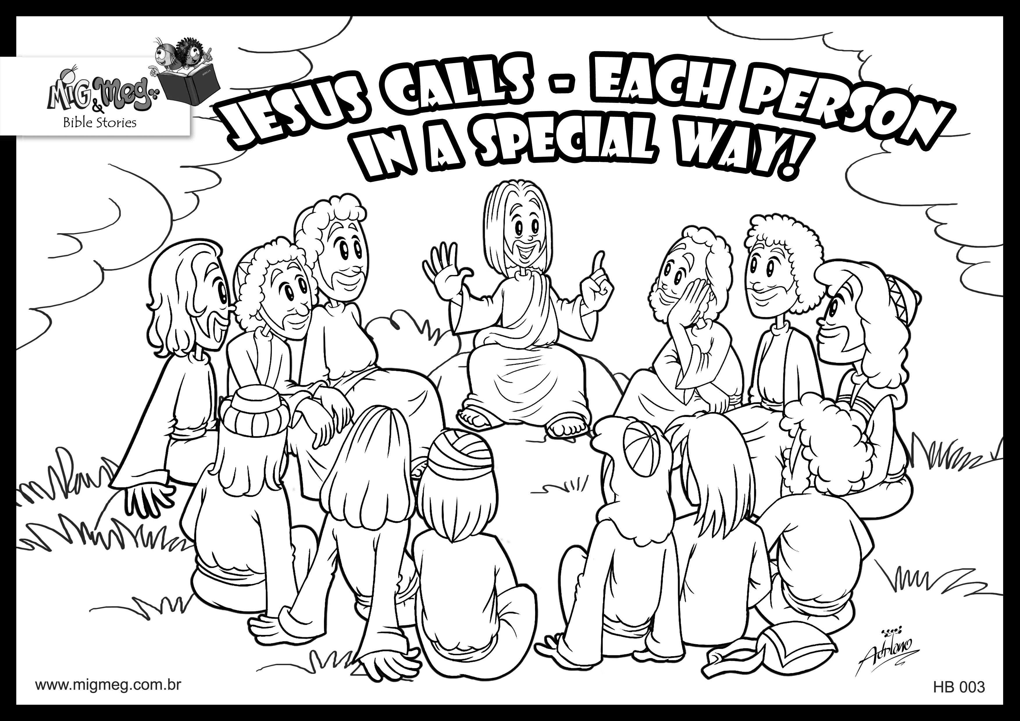 Free Twelve Disciples Coloring Page Download Free Clip