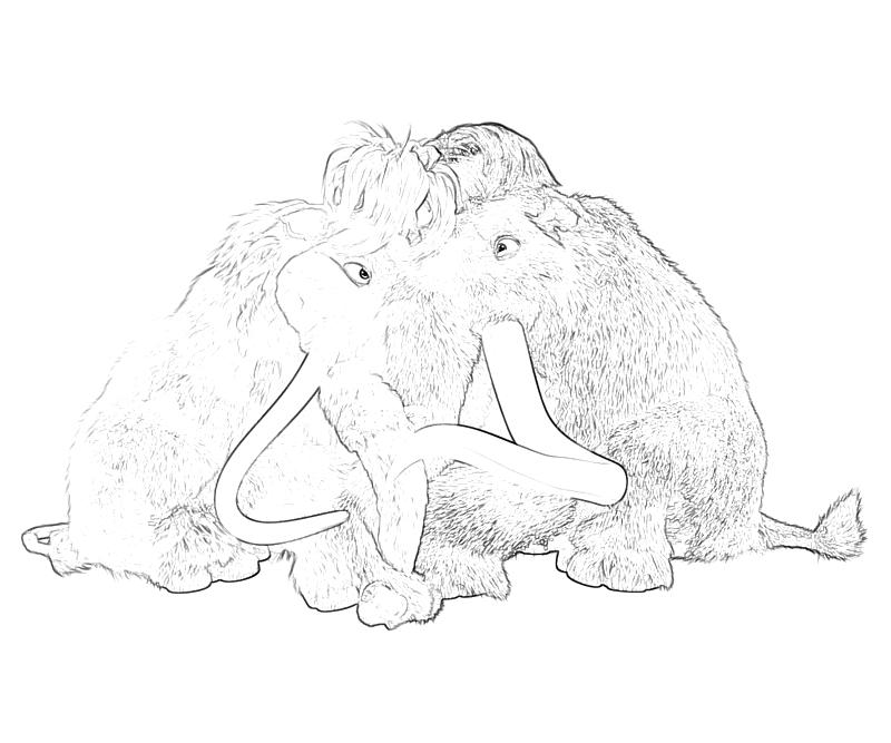 Free Ice Age Continental Drift Coloring Pages, Download