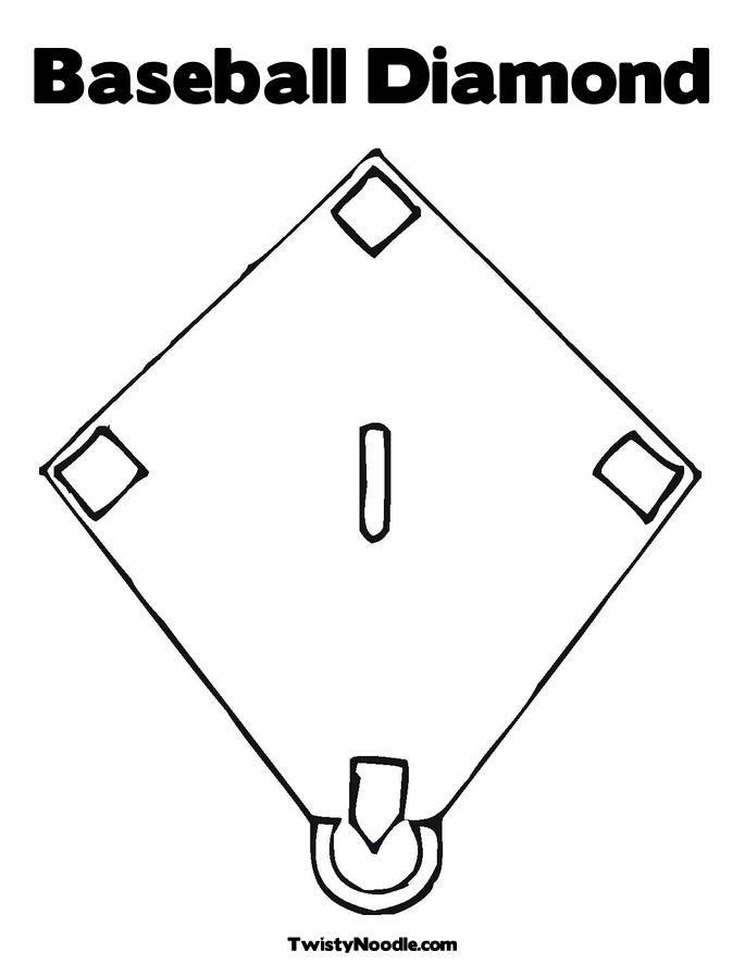 Free Baseball Stadium Coloring Pages, Download Free