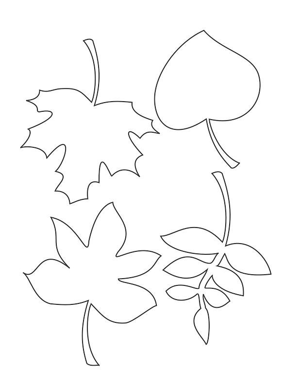 Free Blank Leaf Template, Download Free Clip Art, Free