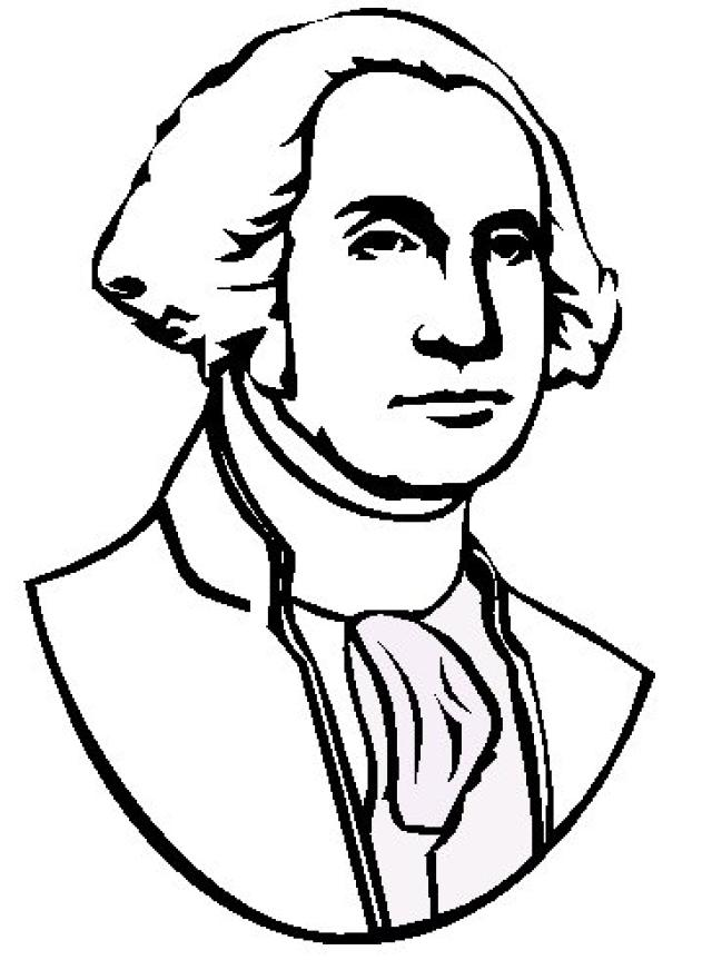 George Washington Drawing Easy : george, washington, drawing, George, Washington, Simple, Drawing, Library