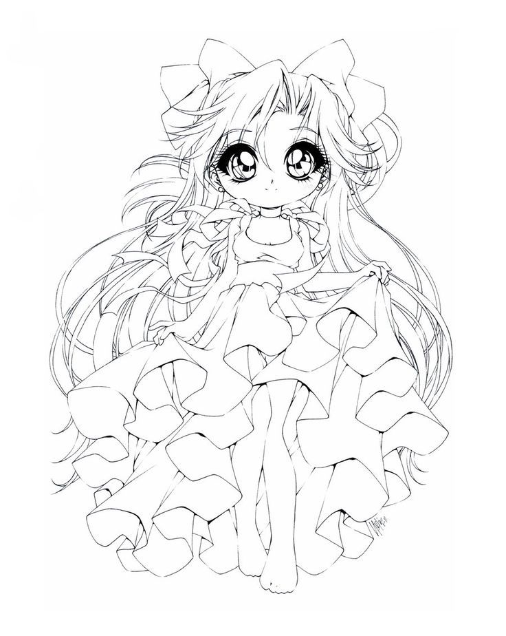 Free Chibi Anime Coloring Pages Download Free Clip Art Free Clip Art On Clipart Library