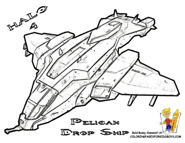 coloring pages halo # 44